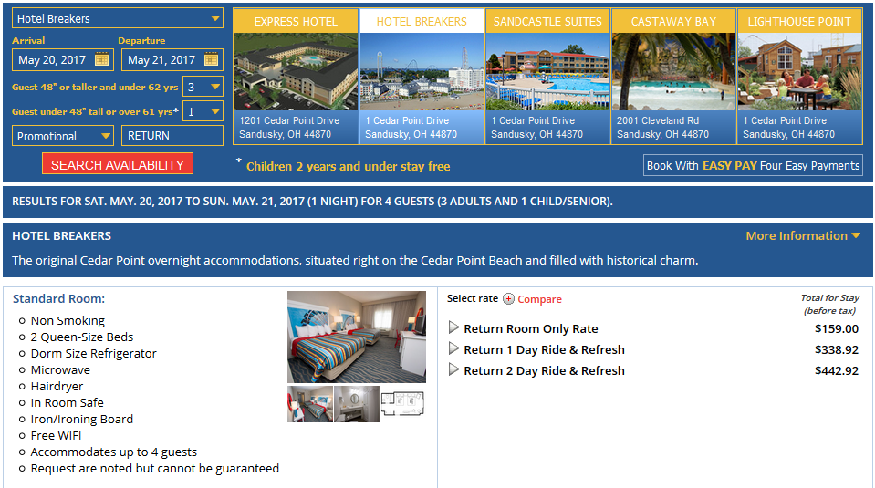 Cedar Point Amusement Park Promo Codes, Coupon Codes October Savings with Cedar Point Amusement Park promo codes and coupon codes for October Today's top Cedar Point Amusement Park coupon: Buy 1, Get 1 Free on One Admission for Anyone Age 3 Or Older.