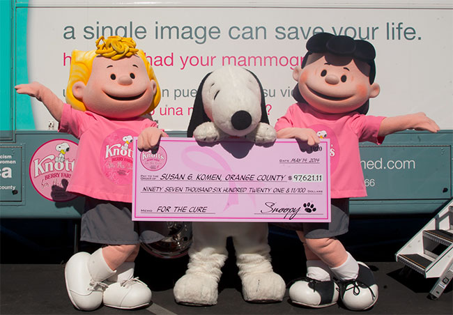 2014-Komen-Mobile-Mammogram-Snoopy-Sally-Lucy