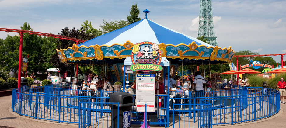 Kings Island Character Carousel