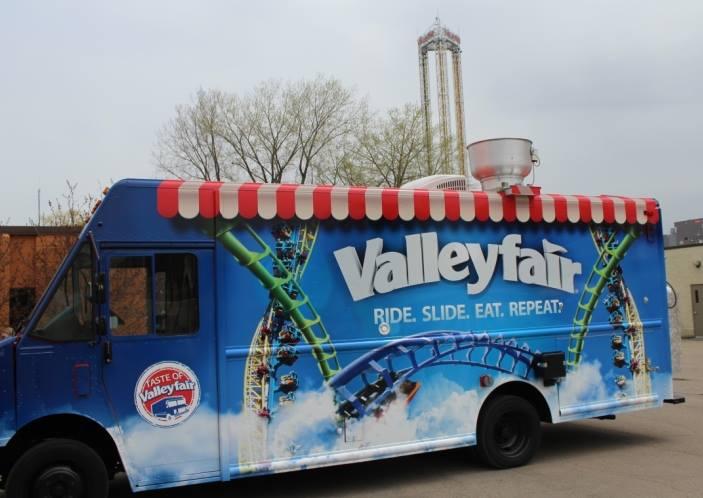 140514 Taste of Valleyfair Food Truck ©Valleyfair