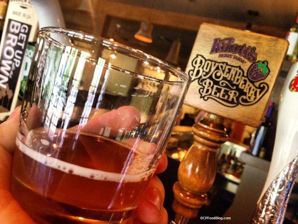 160419 Knott's Berry Farm Boysenberry Beer 1