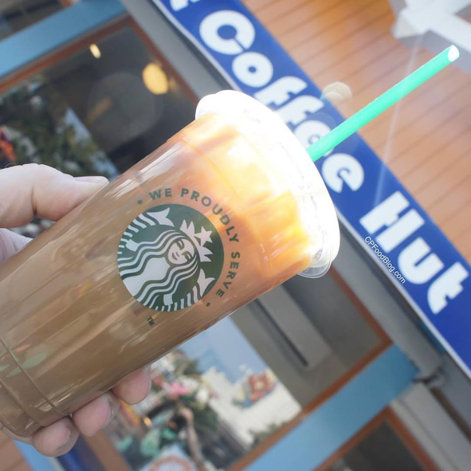 160419 Knott's Berry Farm Starbucks Boysenberry Latte