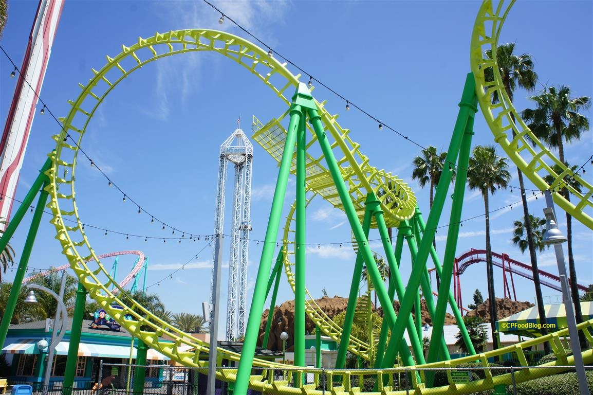 160419 Knott's Berry Farm Boomerang Roller Coaster