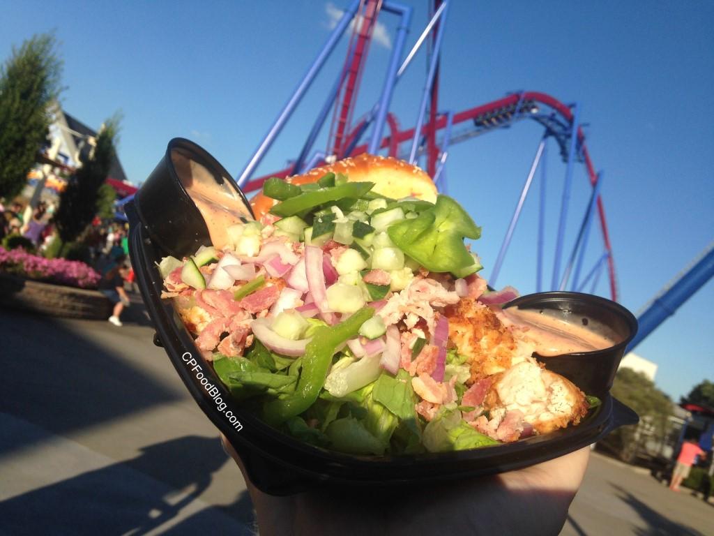 160701 Kings Island Chicken Shack Hand Breaded Chicken Salad