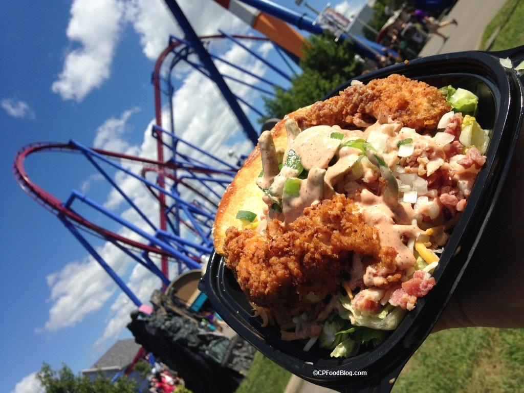 160903 Kings Island Chicken Shack Hand Breaded Chicken Salad (2)