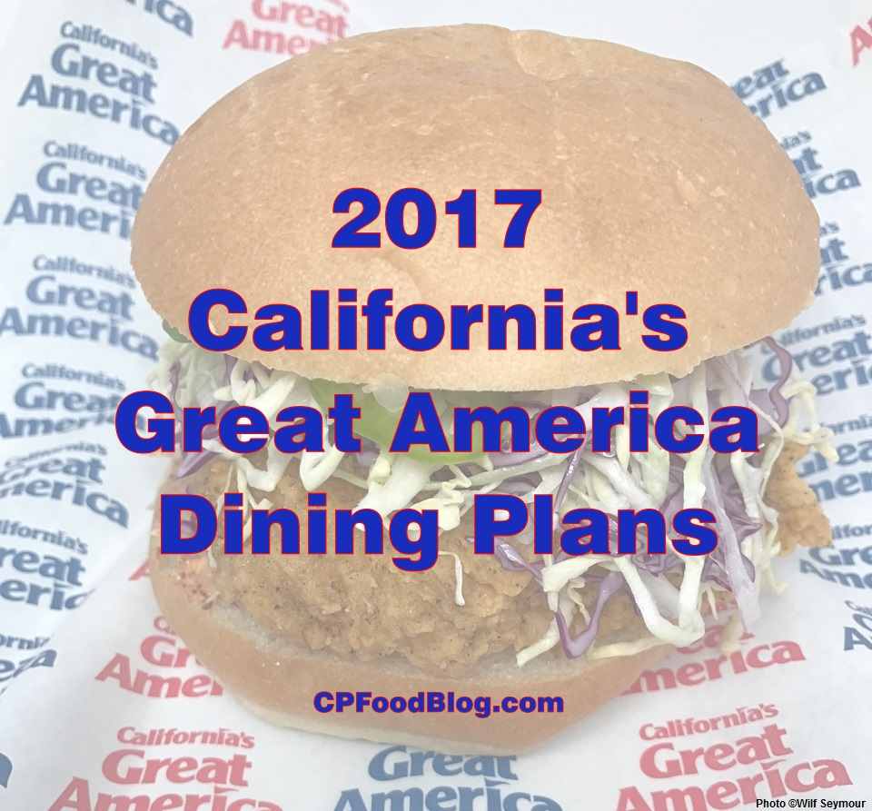 2017 California's Great America Dining Plans