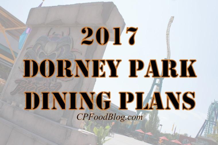 2017 Dorney Park Dining Plans