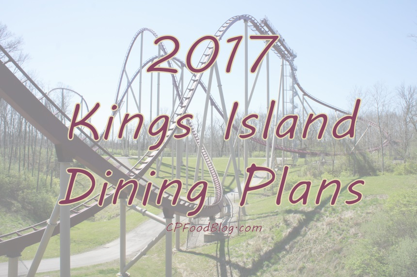 2017 Kings Island Dining Plans