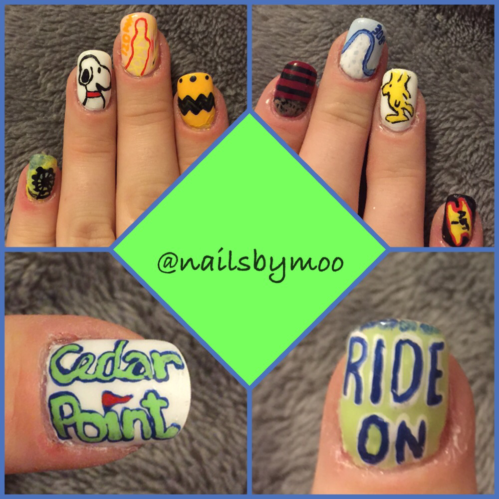 Roller Coaster Nail Art To Get You Excited To Ride