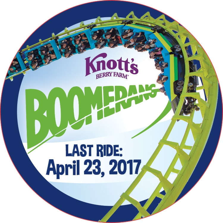 Knott's Berry Farm Boomerang Last Ride