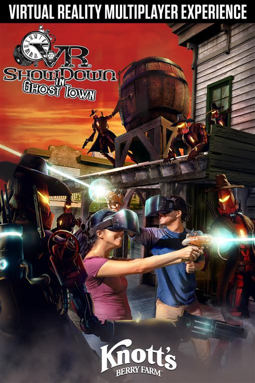 VR Showdown In Ghost Town at Knotts Berry Farm Poster High-Res