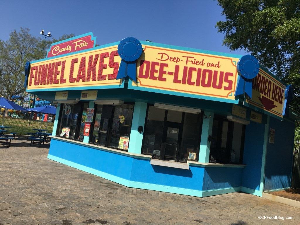 170421 Carowinds County Fair Funnel Cakes