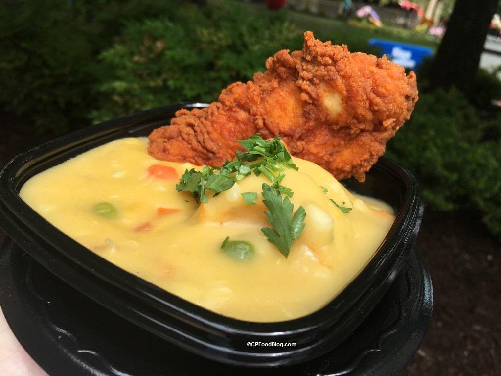 170513 Kings Dominion Taste of Virginia Fried Chicken and Creamy Dumplings
