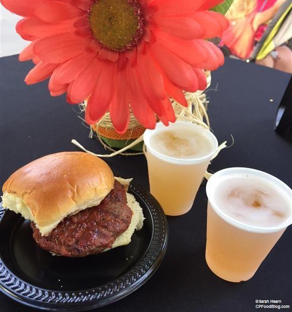 170602 Worlds of Fun Kansas City Flavor Seasoned Beef Slider ©Sarah Hearn