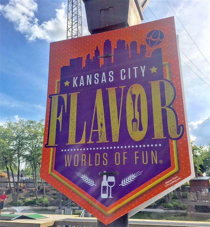 170602 Worlds of Fun Kansas City Flavor Sign ©Sarah Hearn