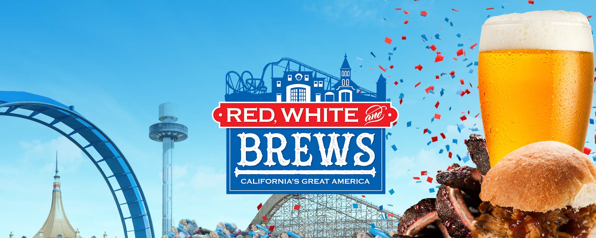 2017 California's Great America Red White Brews