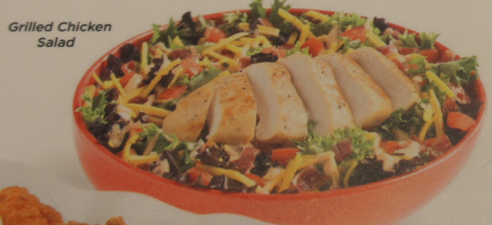 2017 Cedar Point Johnny Rockets Menu Chicken Salad