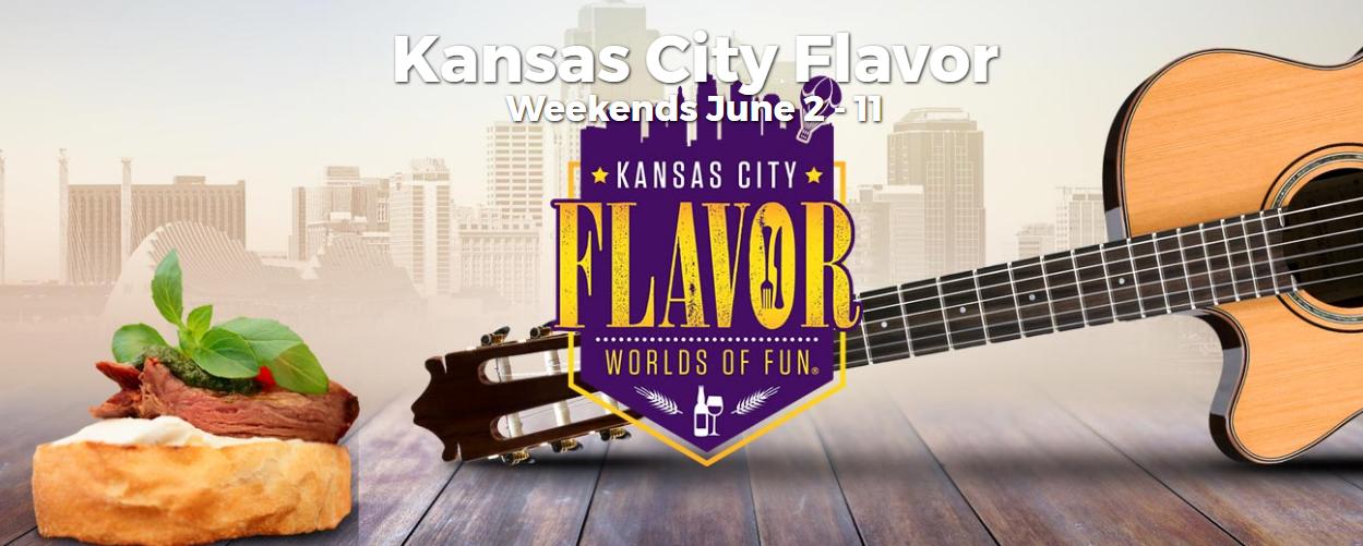 2017 Worlds of Fun Kansas City Flavor