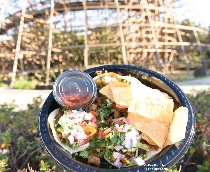 170603 California's Great America La Cantina Taco Platter ©Mike Rumble (1)