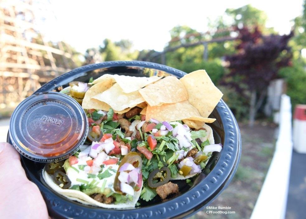 170603 California's Great America La Cantina Taco Platter ©Mike Rumble (2)