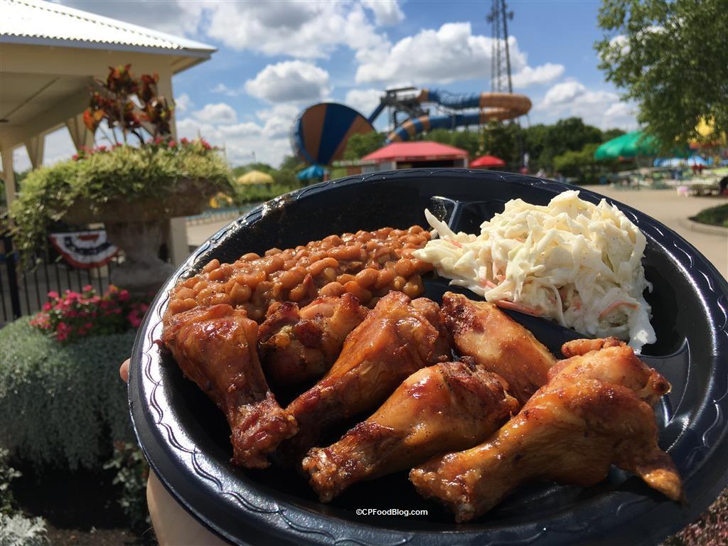170608 Kings Island Soak City Island Smokehouse Smoked Chicken Wings (3)