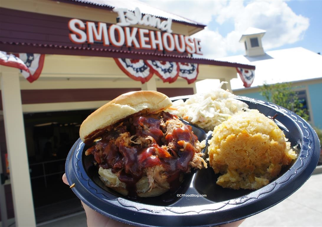 170608 Kings Island Soak City Island Smokehouse Smoked Pulled Pork (1)