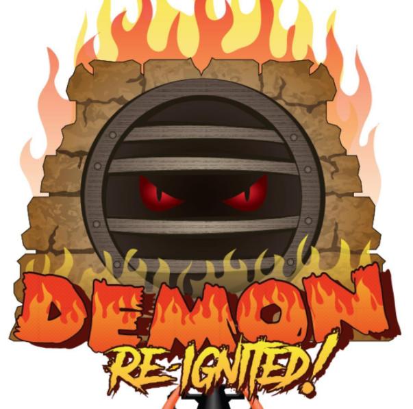 170619 California's Great America Demon Re-Ignited Logo