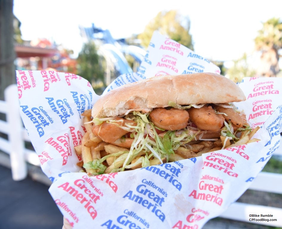 170618 California's Great America Outback Shack Shrimp Po-Boy ©Mike Rumble (4)