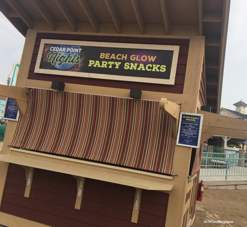 170716 Cedar Point Glow Party Snacks Hut