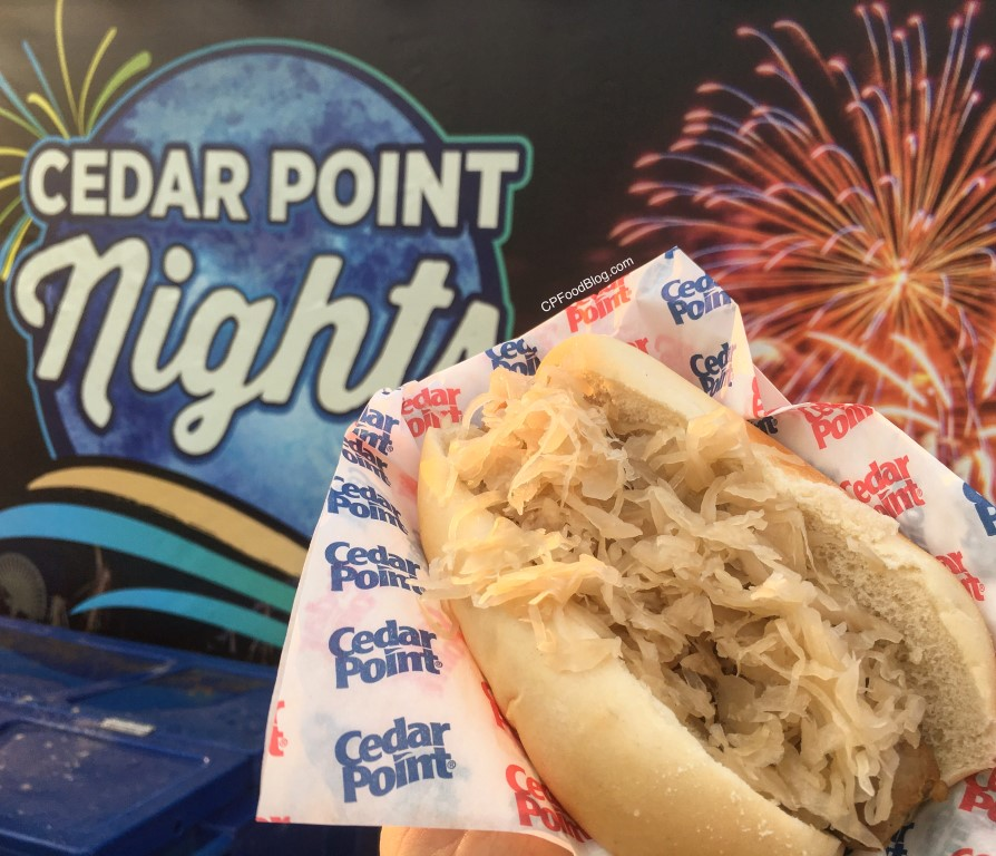 170716 Cedar Point Nights Sausage Sauerkraut