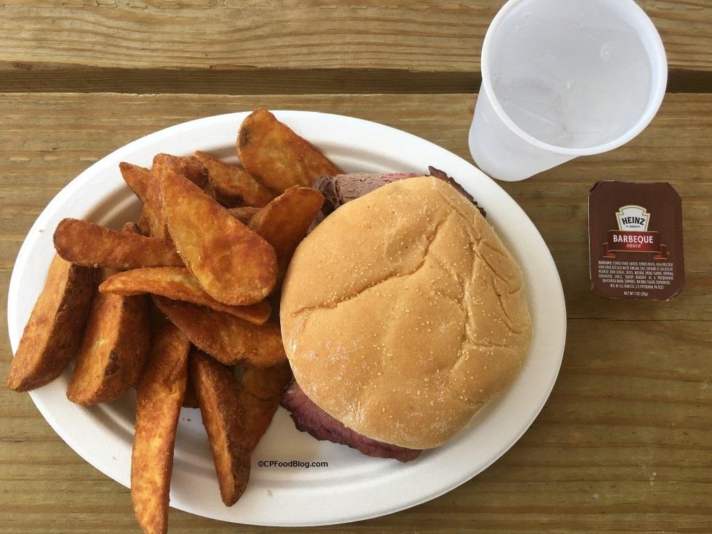 170718 Cedar Point Shores Crystal Rock Cafe Brisket (1)