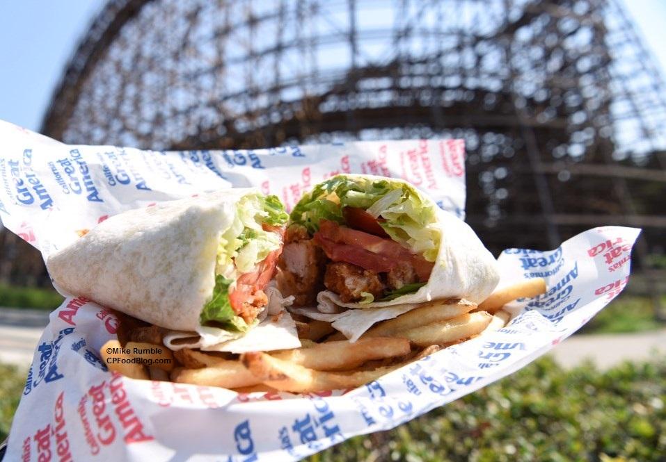 170811 California's Great America Chicken Caesar Wrap ©Mike Rumble (2)