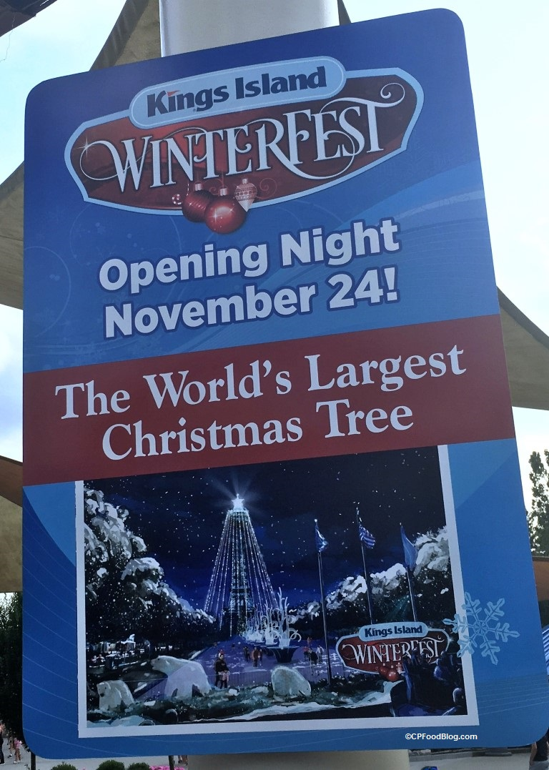 170811 kings island winterfest tree sign