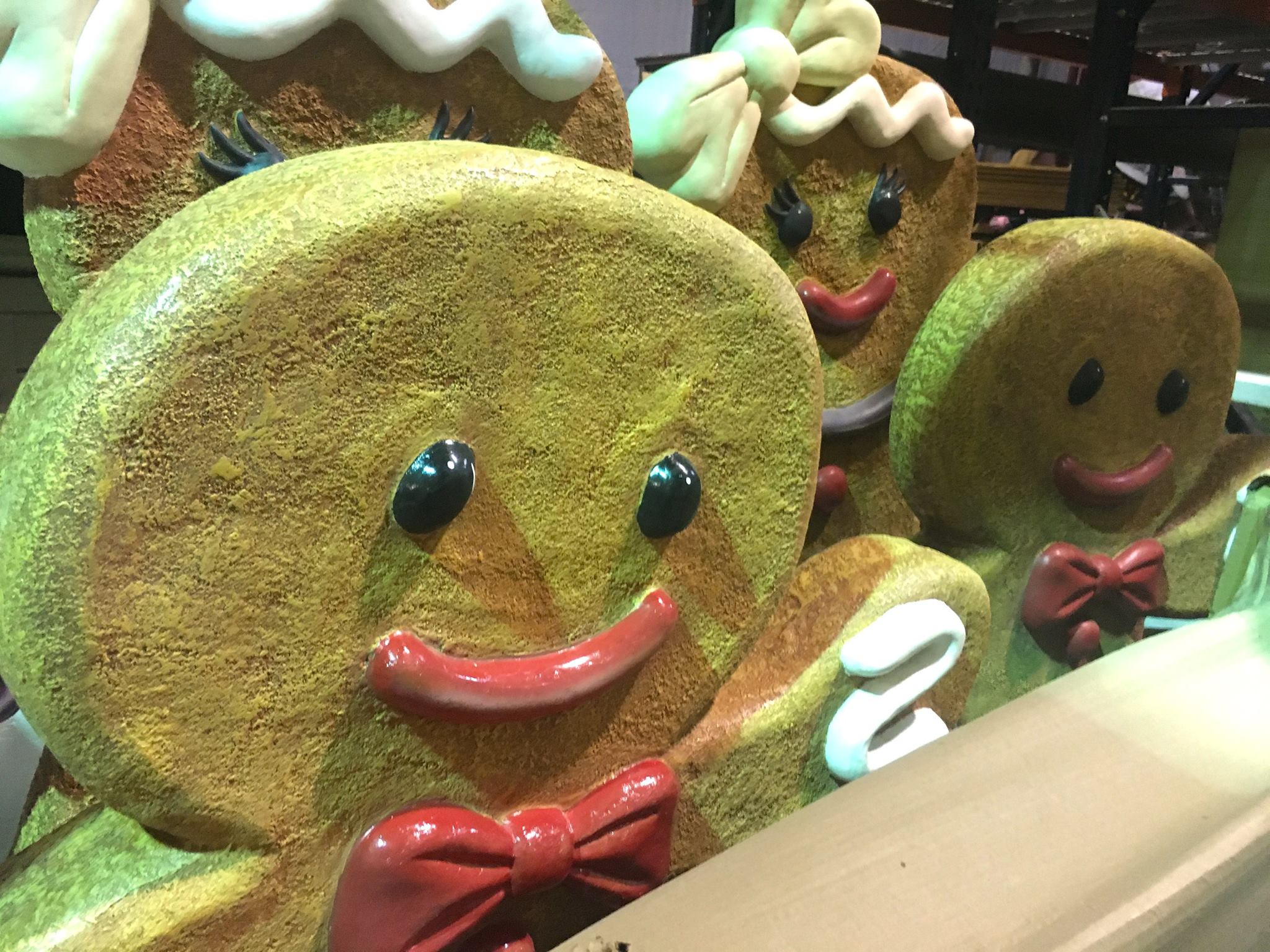2017 Carowinds Winterfest Gingerbread Men