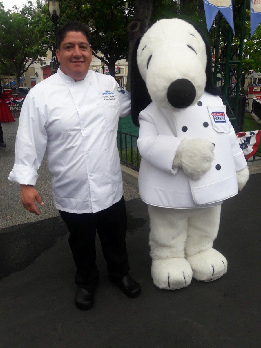 California's Great America Executive Chef Erick J. Ponce