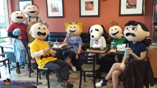 Creepiest Peanuts Costumes 1