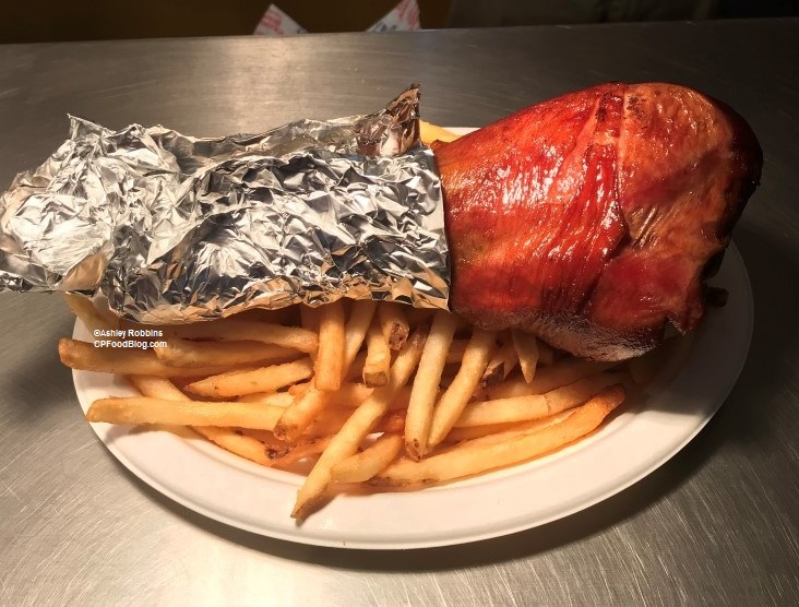 171124 California's Great America Winterfest Joe Cool Cafe Turkey Leg ©Ashley Robbins