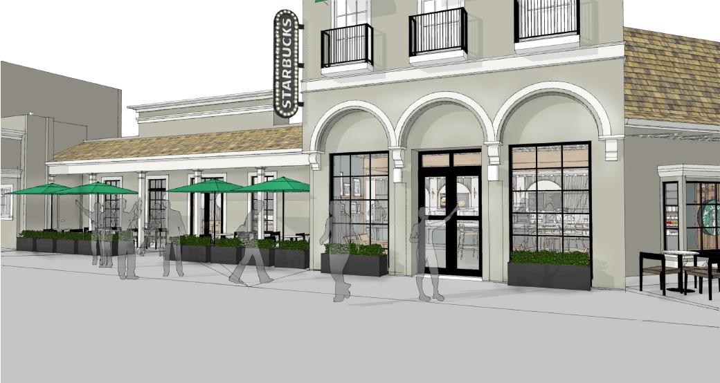 California's Great America 2018 Starbucks Exterior Artist Concept