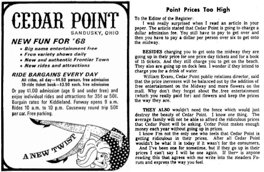 1968 cedar-point-prices