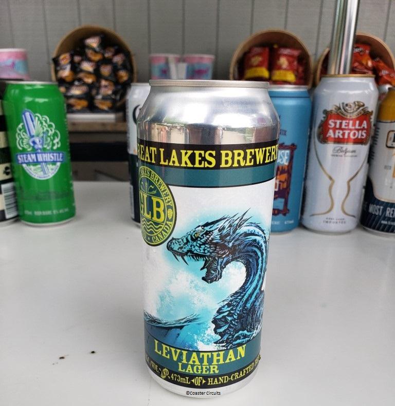 New 2018 Canada's Wonderland Leviathan Lager and Behemoth