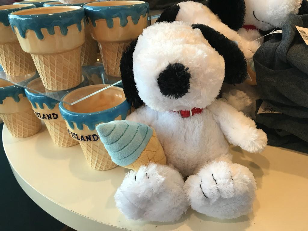 Snoopy Ice Cream Cake