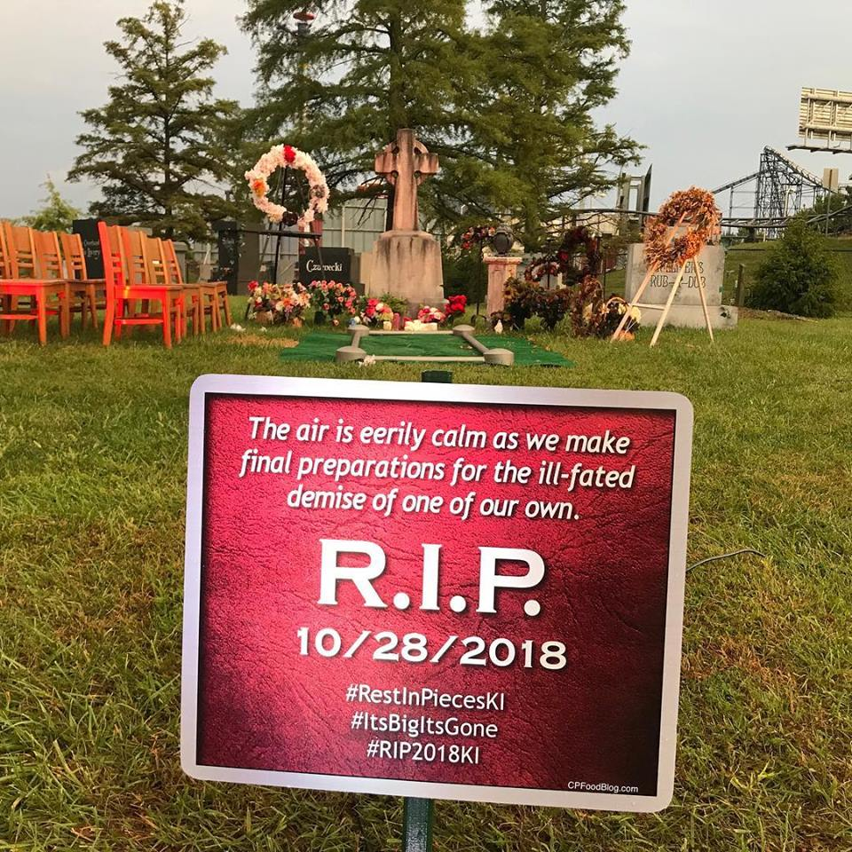 Kings Island Removing Firehawk Roller Coaster - CP Food Blog