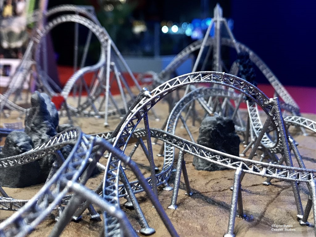 New Carowinds Copperhead Strike Model Gives Clues to Theme