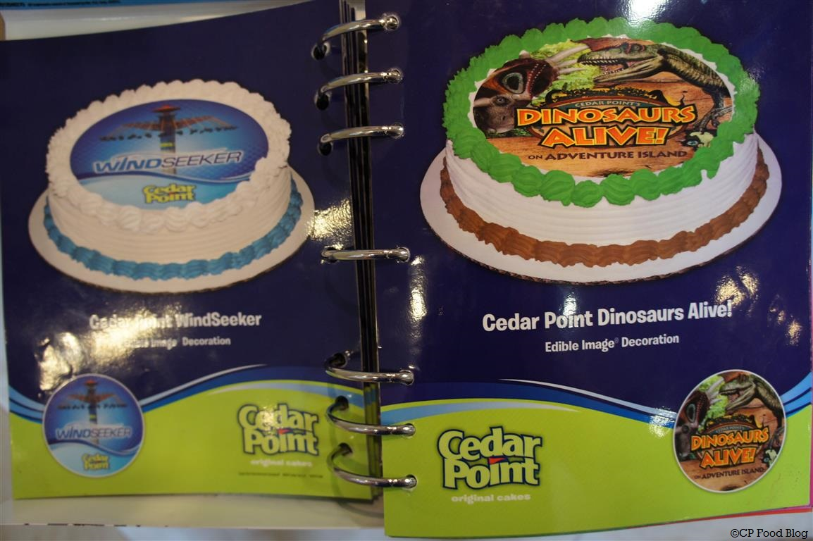 Cedar Point Dairy Queen Exclusive Licensed Cakes Cp Food