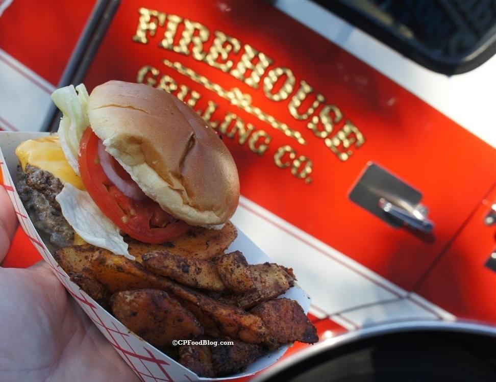 Firehouse Grilling Food Truck Menu