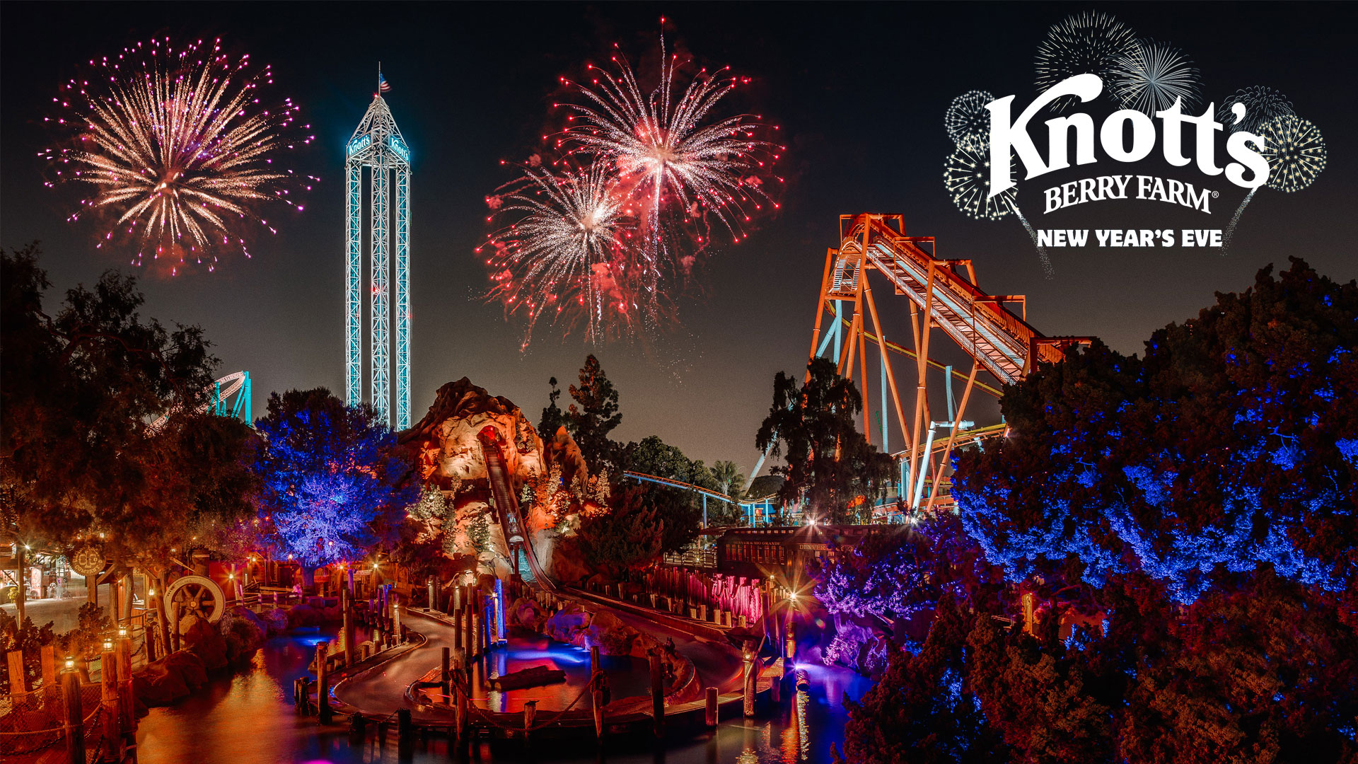 Knotts Berry Farm Christmas 2020 Dates 2019 2020 New Years Eve at Knott's Berry Farm   CP Food Blog