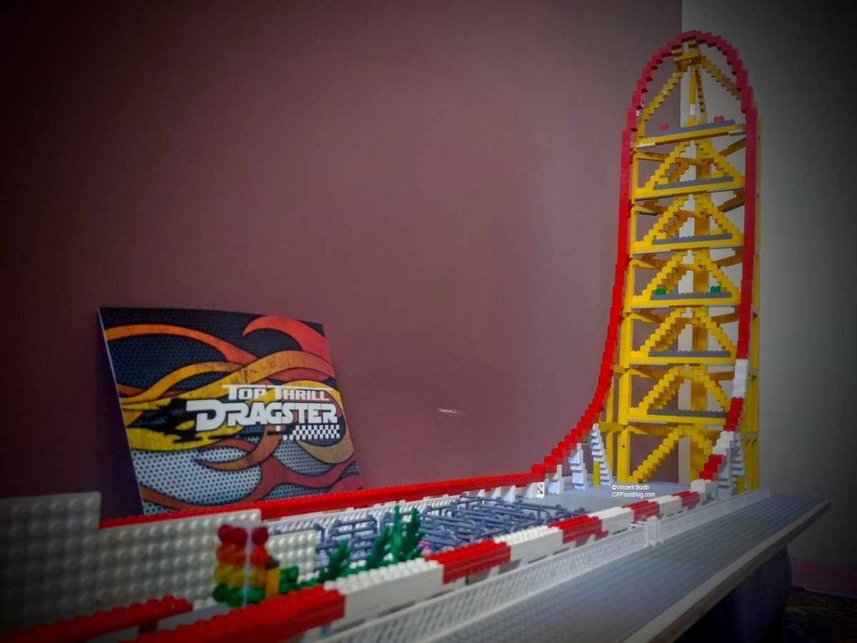 Bored Man Builds Lego Model Of Cedar Point Top Thrill
