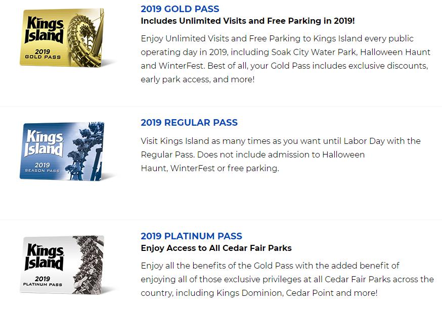 gold pass cedar point